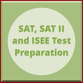 SAT,  SAT II and ISEE Test Preparation